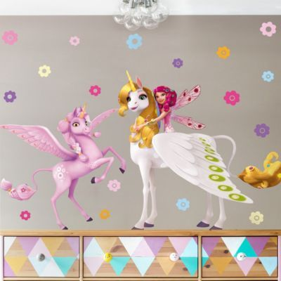 Elegant Wandtattoo Kinderzimmer Mia and Me Mia Onchao und Kyara x Jetzt bestellen
