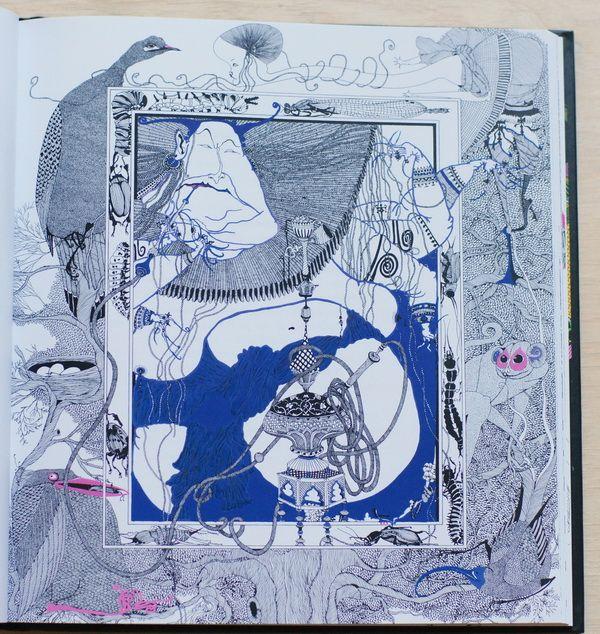 Алиса в стране чудес художник Ксения Лаврова