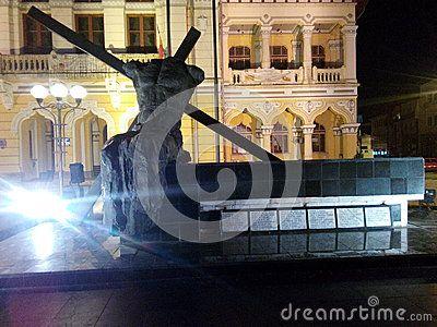 Statue in buzau