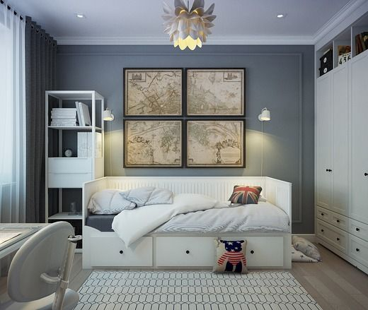 Комната для подростка. Спальня