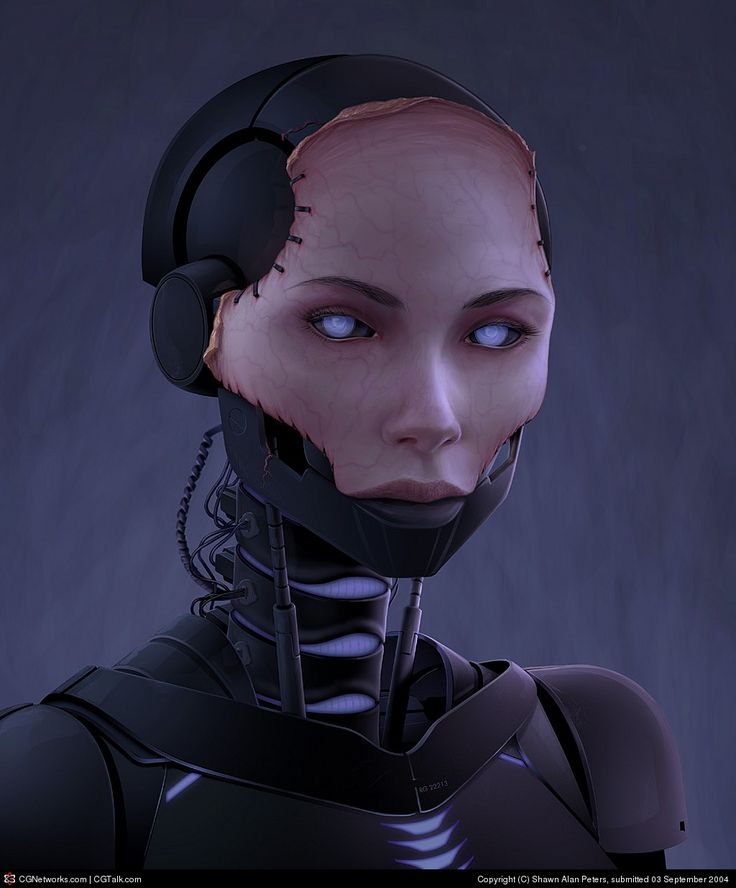 Machineflesh Entryname By Shawn Alan Peters Robot Girl