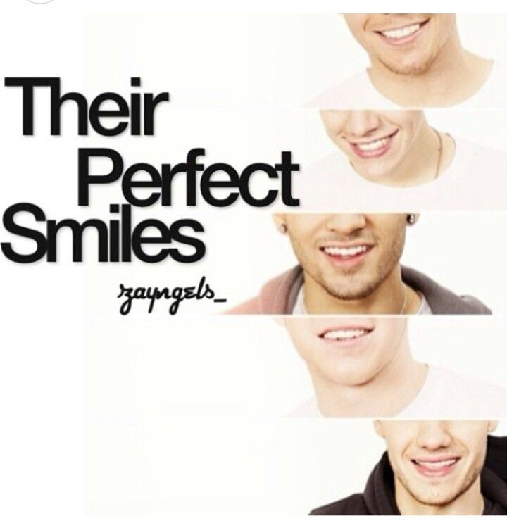 One direction smiles (;