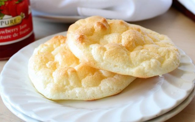 Cloud bread - zonder koolhydraten, met veel eiwitten