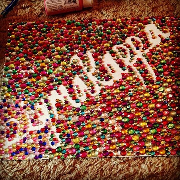 Sigma Kappa crafting- AWWW my craft got on sorority please! (: