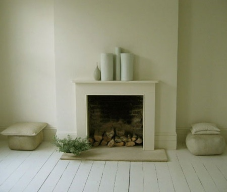 fireplace...clean & simple