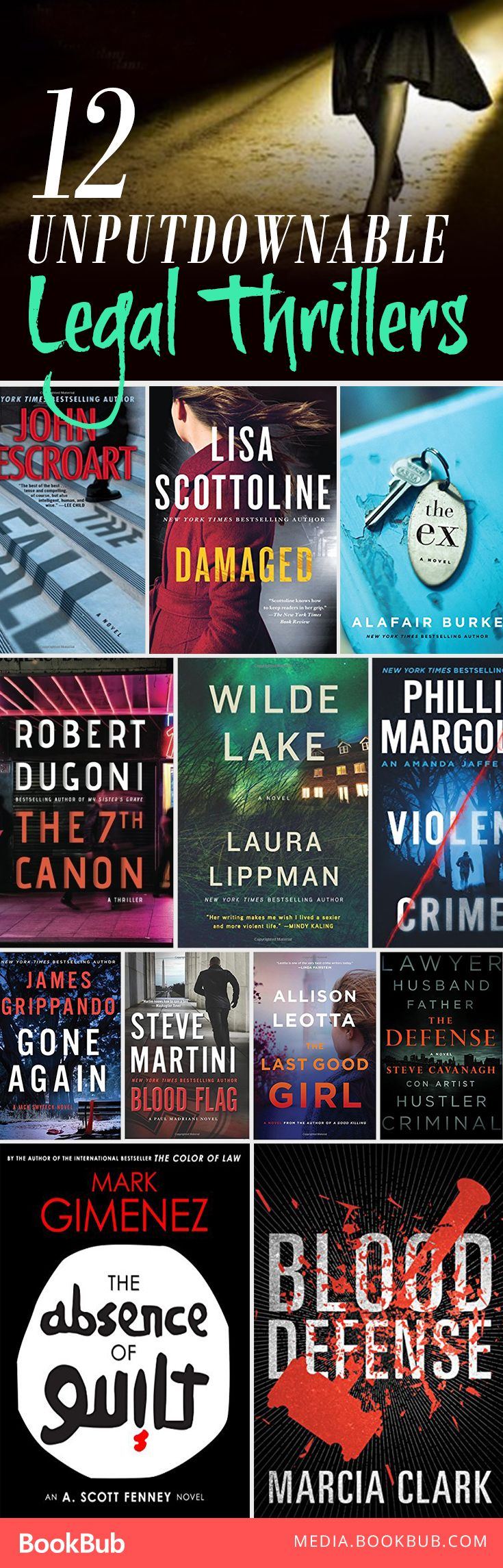 Looking for a book recommendation? Check out these 12 unputdownable legal thrillers.