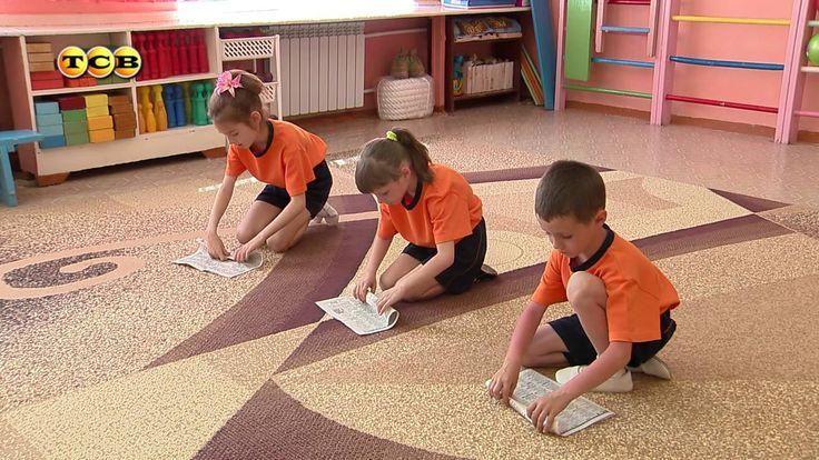 Подвижные игры для детей. Мамина школа. ТСВ