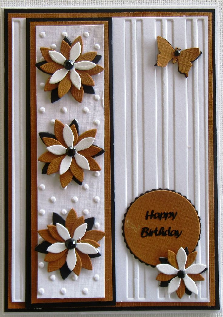 May swap- Kaye to Therese - theme handmade flowers