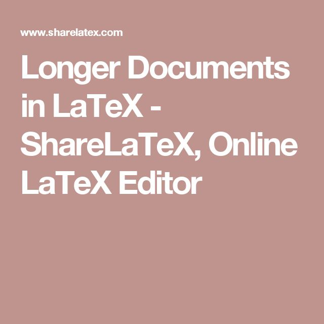 les modles de latex sharelatex online editor thats online latex latex editor latex compiler time collaboration version control automata theory