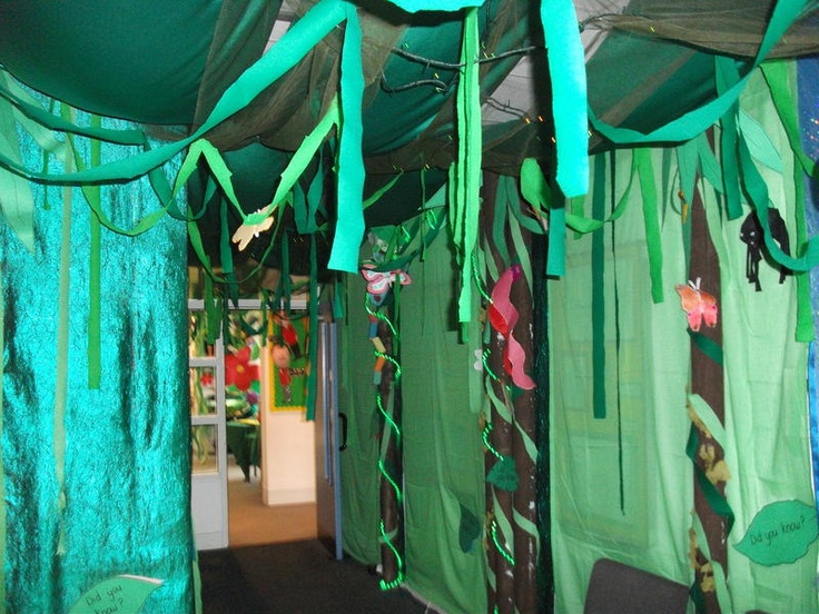 Rainforest Classroom Decoration Ideas ~ Best images about vbs safari on pinterest jungle