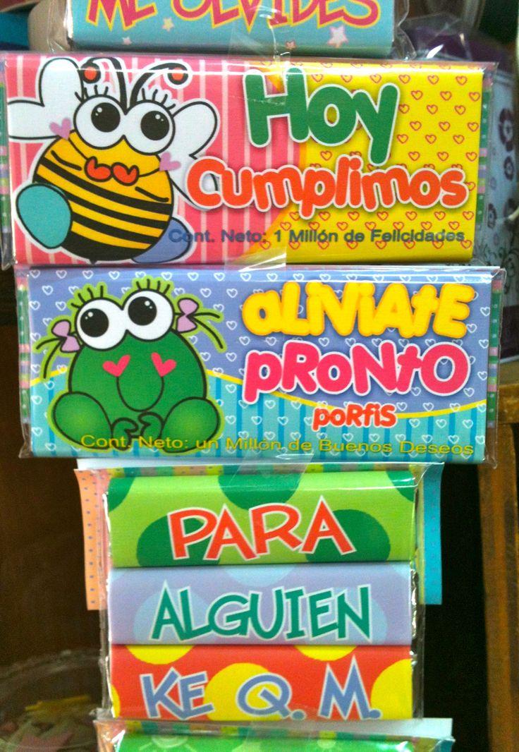 Regalos Amer. 55246977 Chocolate con mensaje.