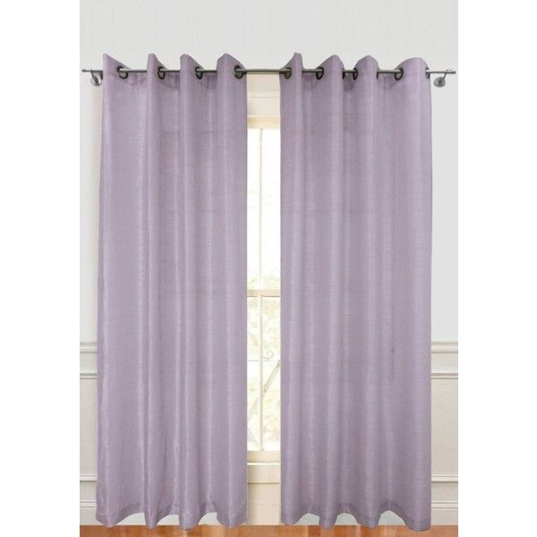Dainty Home Lavender Versailles Window Panel Pair 30 Liked