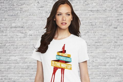 Hey Baby - Girls T-shirt