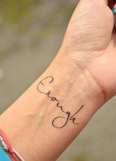 Handgelenk Tattoo