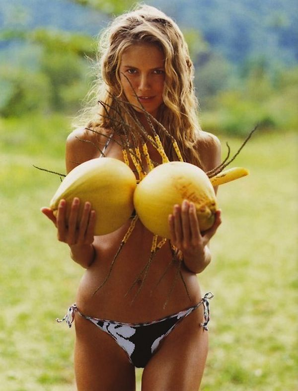 Gigantic melons
