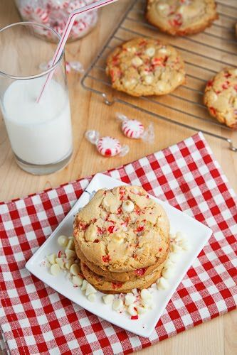 Peppermint White Chocolate Chip Cookies Refrigerados 1 Egg Respotería y especias 1