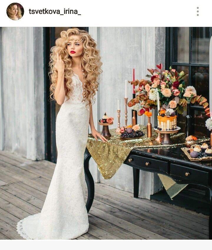 Über 100 Frisuren für eine Braut