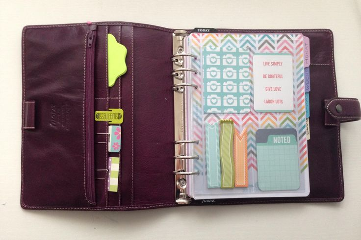 Project Life goes Filofax