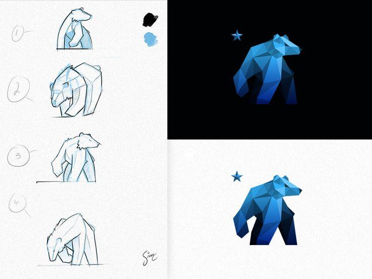 25 best ideas about bear logo on pinterest logo design