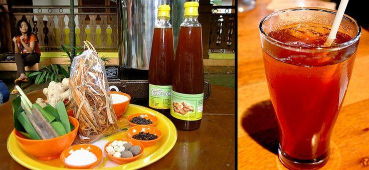 beer pletok - tradisional drink Indonesia