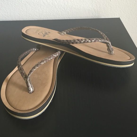 Cobian Flip Flops Never been worn! Perfect condition! NWOT, posting as NWT because there's literally no wear to them. Shoes Sandals