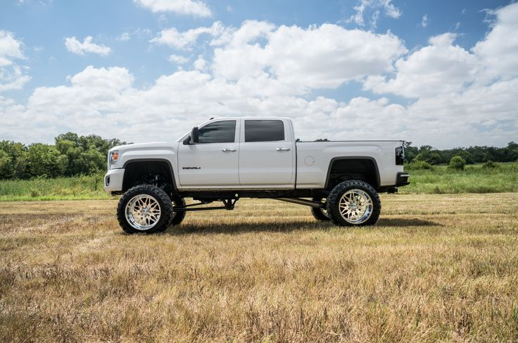 2017 Gmc Sierra 2500 Denali Lifted >> BOSS Luxury & Custom Trucks 2015 GMC Sierra 2500 Denali white | Denali Duramax | Pinterest ...