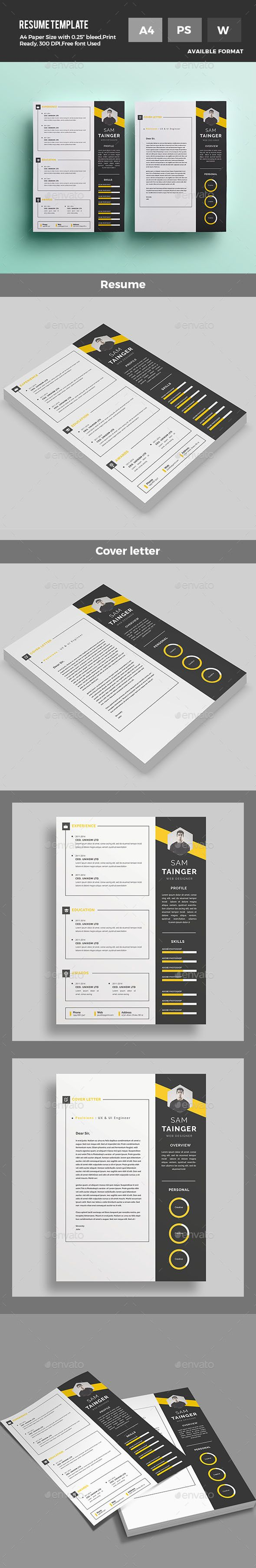 16 best Resume / Questionnaire / Document Design images on ...