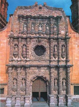 Catedral, Zacatecas, México.