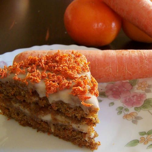 If you think that carrot cake is just about the cream cheese frosting ...