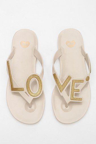 Mel By Melissa Shoes Love Thong Sandal