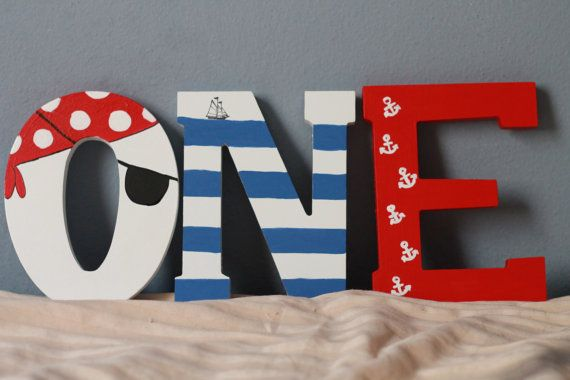 Jake and The Neverland Pirates. Decor ideas. First Birthday Pirate/Nautical Theme Photo Props/Party Decor