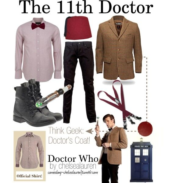 """""""Doctor Who - The 11th Doctor"""" by chelsealauren10 on Polyvore"""