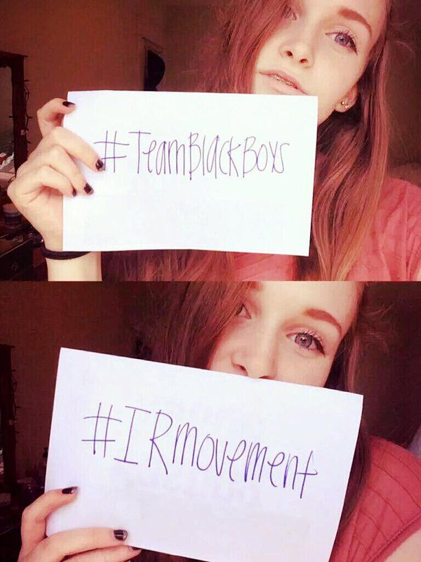 #TeamBlack #Snowbunny #IRMovement
