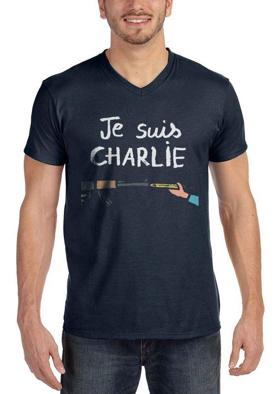 Vneck Je Suis Charlie