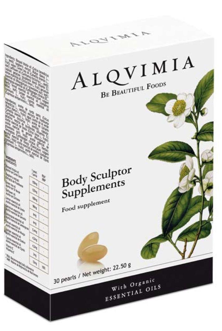 Body Sculptor  To suplement diety w formie pereł żelowych wypełnionych mieszanką olejków eterycznych pozyskiwanych z roślin leczniczy ekologicznie uprawianych w 100% naturalnych, najwyższej jakości stworzone dla uzupełnienia kosmetyków i zabiegów z linii figura.