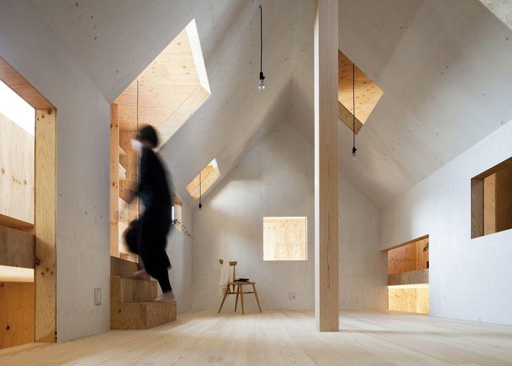 Casa Formiga em Makinohara por mA-style architects. Ant House in Makinohara by mA-style architects.