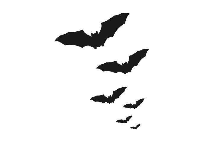 Swarm Of Bats Vector 953045 Illustrations Design Bundles Bat Vector Vector Graphics Illustrations Illustration Design
