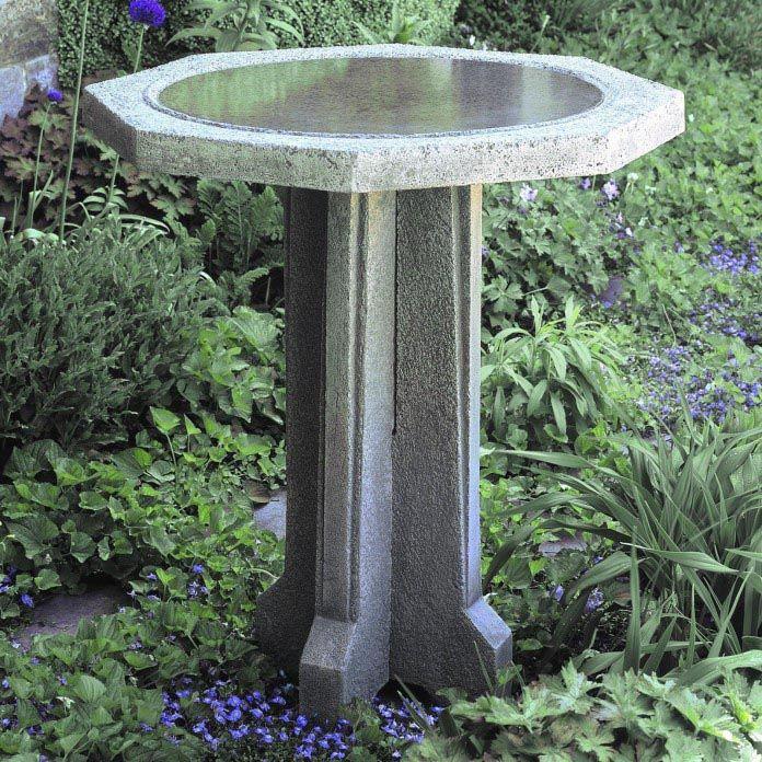 DIY Concrete Bird Bath
