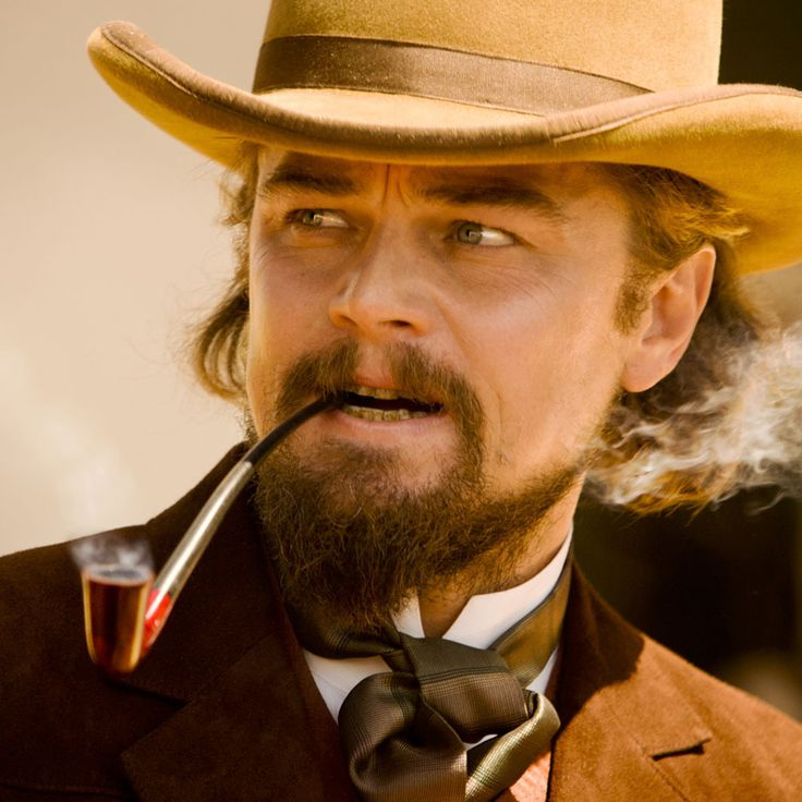 "Leonardo DiCaprio en ""Django Desencadenado"" (Django Unchained), 2012"