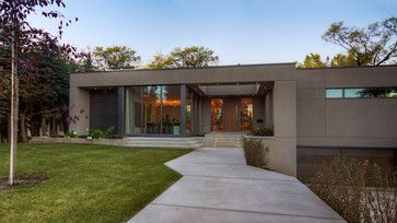 Modern Bungalow - contemporary - Exterior - Calgary - Rusch Projects