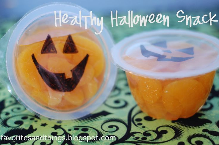 Healthy Halloween Snack, I ❤️ this for school snack!!!