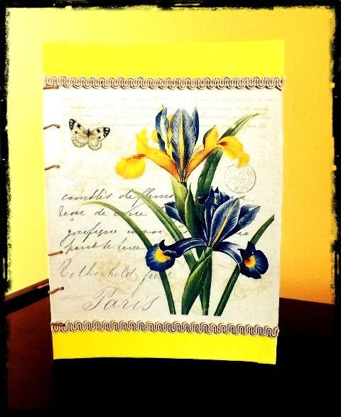 Jurnal Handmade Yellow - http://paintynotes.ro/yellow/