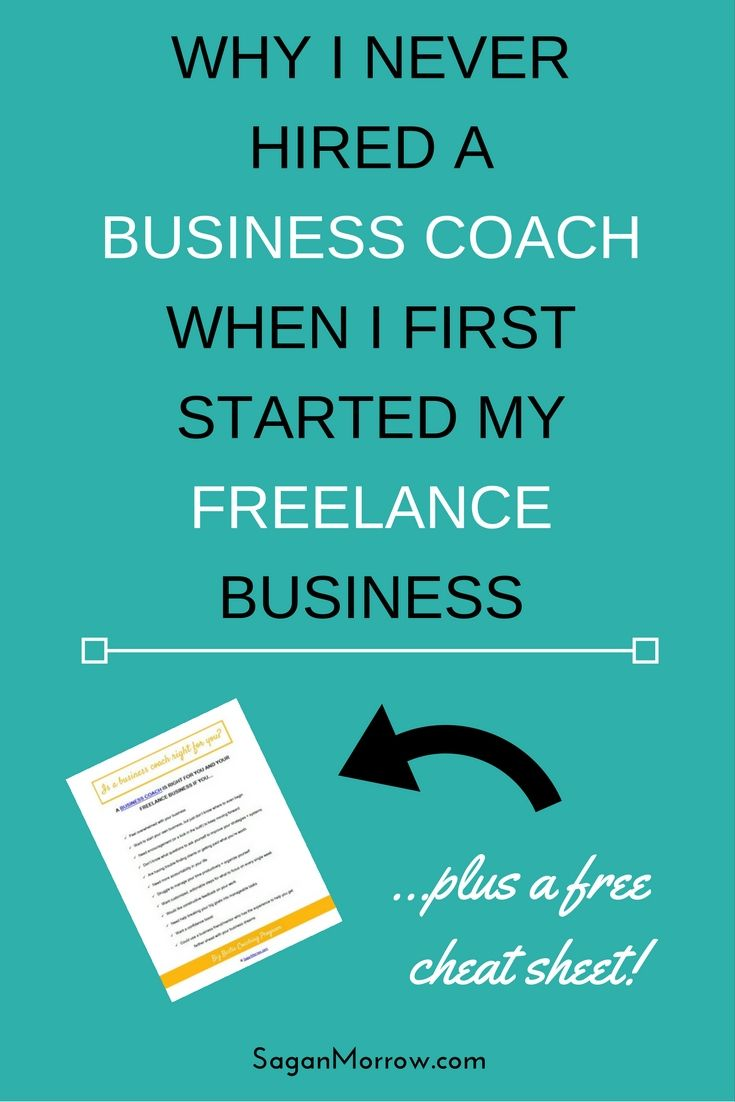 Learn 5 myths about business coaching in this article, plus why I never hired a business coach for my freelance business... PLUS grab your cheat sheet to find out whether hiring a freelance coach for your business is right for YOU!