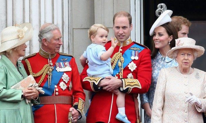 Принц Уильям и герцогиня Кэтрин празднуют второй день рождения сына Джорджа