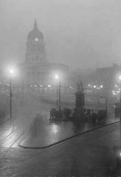 Market Square Nottingham 1929