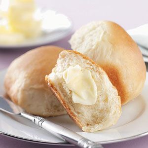 Sour Cream Yeast Rolls Recipe from Taste of Home