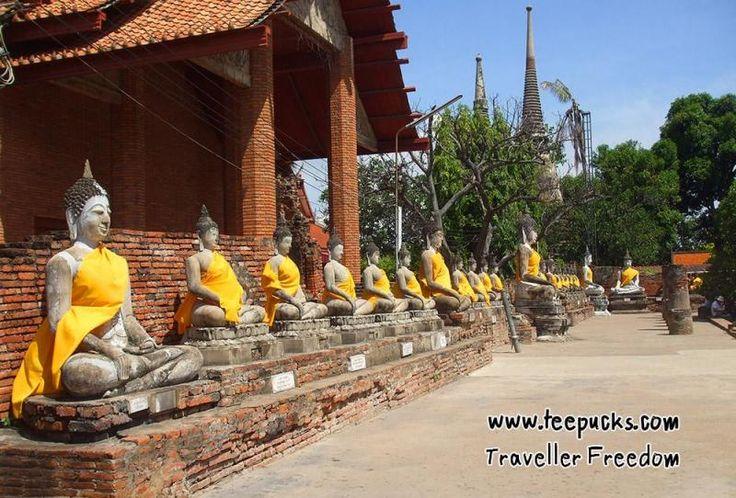 Ayutthaya Historical Park, Thailand. http://www.teepucks.com/webboard/index.php/topic,1330.0.html#.V6Wjc_mLTIU
