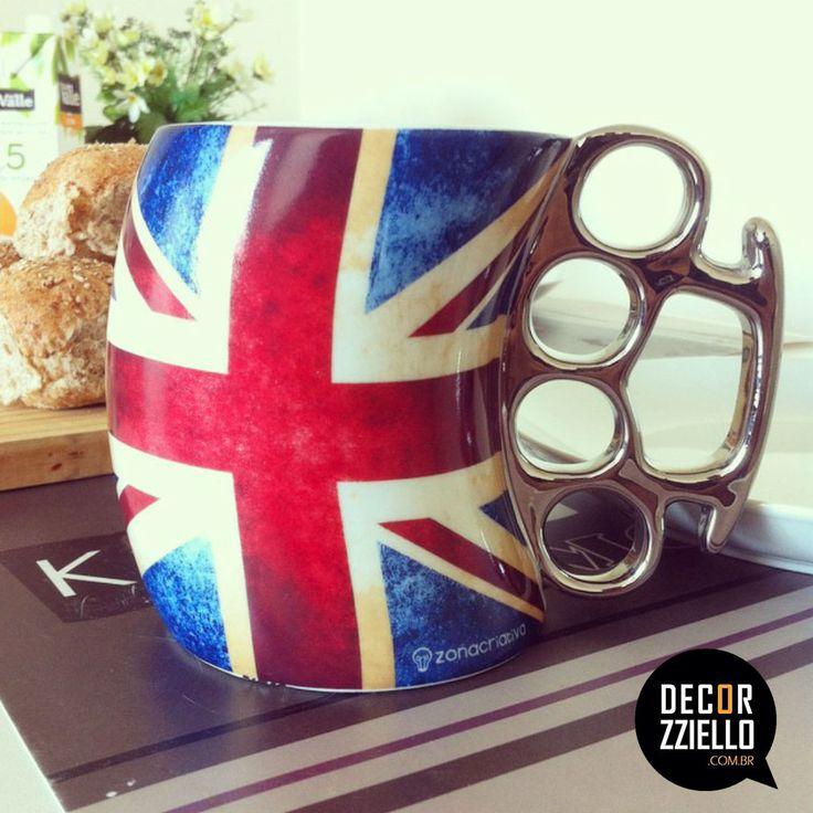 Caneca soco inglês Inglaterra #caneca #canecasocoingles #inglaterra #cozinha #fundesign