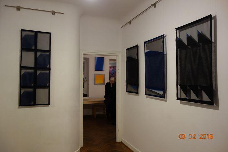 exhibition of Dorota Grynczel in Delfina Gallery