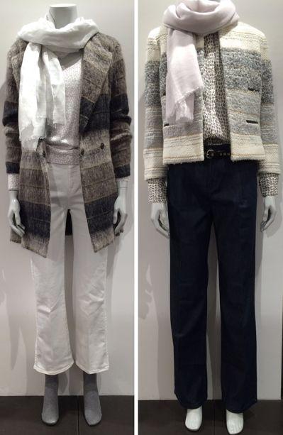 #HeartMade Nyheder Kort eller 3/4 lang jakke. #SmuktogEnkelt med vidde jeans WE LOVE JEANS eller bootcut stumpe jeans 7FOR ALL MANKIND. God dag FLOT http://www.fashionbox.dk/heartmade-julie-fagerholt
